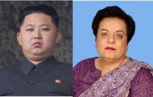 Mazari and Kim Jong